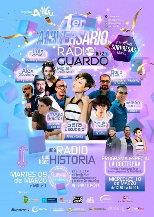 CARTEL 1º ANIVERSARIO MARZO 2021
