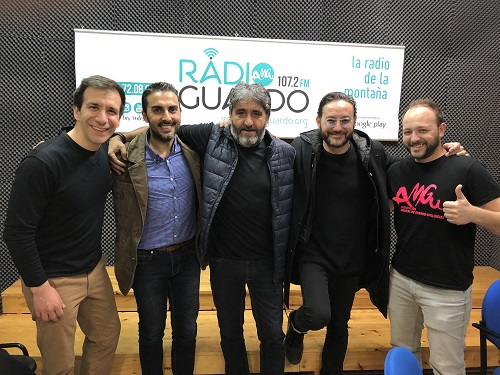 Carlos Santos, Pedros Segura y Daniel Ortiz PEQ